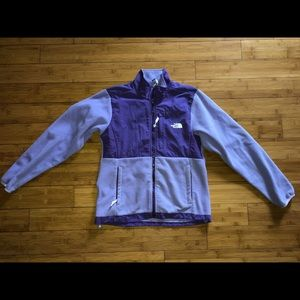 The North Face Girls zip up sweater
